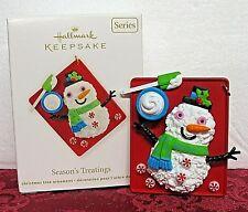 Hallmark 2012 Series Ornament # 4~Season'S Treatings
