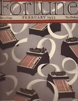 1933 Fortune(Feb) Coca Cola Cigar band, Diego Rivera