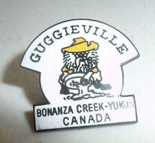 VINTAGE PIN  PROSPECTOR GOLD GUGGIEVILLE BONANZA CREEK YUKON CANADA