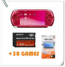 SONY PSP SYSTEM 300X + Screen Guard + 8GB Memory + 30 Games bundle offer 3000