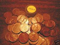 1919-D LINCOLN WHEAT CENT ROLL