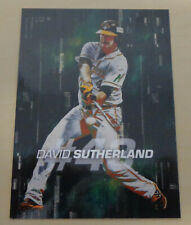 David Sutherland 2017/18 Brisbane Bandits INSERT - Australian Baseball League