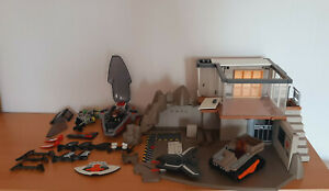 Playmobil 4875 Konvolut Agenten Hauptquartier nur Einzelteile, Ersatzteile