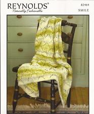Arrowhead Lace Afghan Reynolds Smile KNITTING PATTERN 82464 Pattern Only