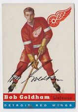 1954 TOPPS BOB GOLDHAM DETROIT RED WINGS CARD #46 VG CONDITION