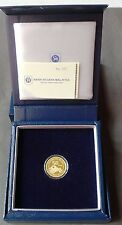 MALAYSIA 50th FORMATION YEARS DAY SINGLE GOLD COIN  (CERT. NO. 352)