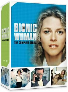 THE BIONIC WOMAN COMPLETE SERIES DVD BOXSET 14 DISCS NEW & SEALED