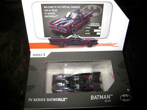 2018 HOTWHEELS ID T.V. SERIES BATMOBILE INTERACTIVE CAR PACKAGED VERY GOOD COND.