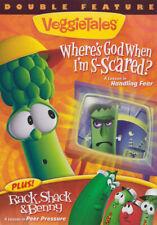 VEGGIETALES DOUBLE FEATURE: WHERE S GOD WHEN I M S-SCARED? PLUS / RACK, SH (DVD)