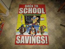 Hostess Back To School Savings Poster Display