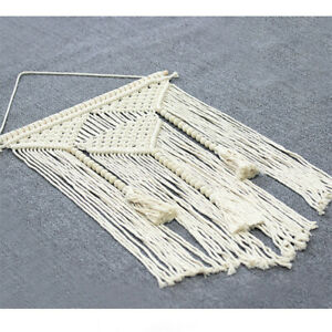 Handwoven Bohemia Tapestry Macrame Wall Hanging Living Room Backdrop Home Decor