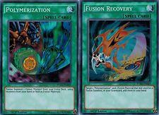 (Fusion) Recovery + Polymerization FUEN-EN043-EN049 ENGLISH Mint 1st  set YUGIOH