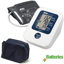 A&D Medical UA651 Digital Upper Arm Automatic Blood Pressure Monitor + Batteries