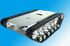 T600 Stainless Steel Tank Truck Intelligent Robot Chassis Metal Pedrail