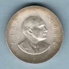 Ireland. 1966 Silver - 10 Shillings.. BU