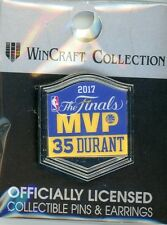 Kevin Durant 2017 NBA Finals MVP Pin Golden State Warriors Champions KD 35 GSW