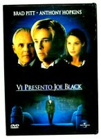 Vi presento Joe Black DVD Brad Pitt Anthony Hopkins Film Cinema Video Filmato X