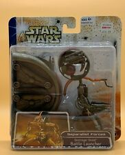2003 Star Wars Clone Wars Destroyer Droid Battle Launcher Deluxe Action Figures