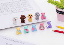 Puppy Dogs Teddy Bears Cute Animal Erasers Kids Rubbers Party Gift Bag Fillers
