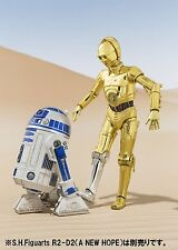 Bandai S.H.Figuarts Star Wars A New Hope C-3PO & R2-D2 Action Figure