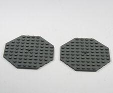Lego 2 x panneaux de construction 8 Coin 10 10 petites bosses sur les deux côtés