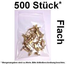 500 Stück* Flachkopfklammern Musterbeutelklammern Verschlußklammern Warensendung