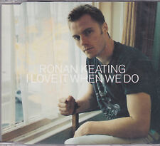 Ronan Keating-I Love It When We do Promo cd single