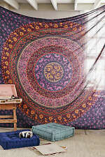 Decoración De Pared Indio Hippie Tapiz Mandala Bohemio Colcha Étnico Dormitorio