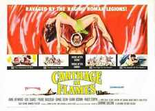 Carthage In Flames Poster 02 A3 Box Canvas Print