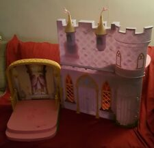 Mattel 2005 Barbie MUSICAL SPINNING PURPLE Castle Very Rare