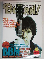 BURRN JAPAN HARD ROCK MAGAZINE 1994 GARY MOORE BBM KISS BLACK SABBATH JOHN SYKES