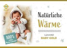 Baby Lammfell Schaffell medizinisch gegerbt Merino Babyfell waschbar Naturfell