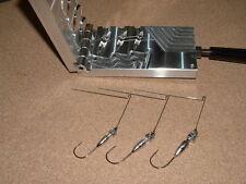 Freshwater Spinnerbait Hidden Weight -1  mold 3/8, 1/2, 3/4 oz CNC Aluminum
