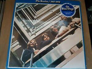 THE BEATLES - 1967-1970 BLUE VINYL PCS 7181 UK 1970's