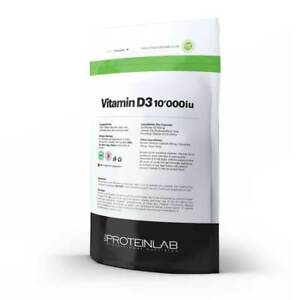 VITAMIN D3 10000iu Tablets - 1000 UK MADE HIGH QUALITY GMP CERTIFIED
