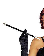 BLACK SEQUNNNED SEQUIN 1920'S CIGARETTE HOLDER GATSBY CHARLESTON FANCY DRESS