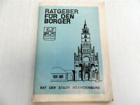 Ratgeber für den Bürger Rat der Stadt Brandenburg 1975