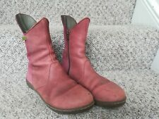 El Naturalista Red leather suede 39/40 women Shoes used