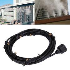 Hochwertig 6M Garden Terrasse Nebeldüse Cooling System  Kühlsystem Feuchtigkeit
