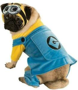 Despicable Me 2 Minion Pet Costume Size Small for Halloween, Cosplay