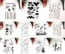 Emoji Silikonstempel Stempel Clear Stamp Scrapbooking DIY Basteln Briefmarken