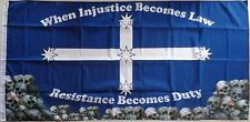 Resistance Becomes Duty Eureka Flag Large Australian Eureka Flag