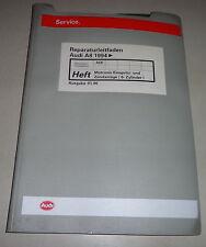 Manuale Officina Audi A8 D2 Motronic Iniezione Sistema di Accensione ( Ack ) Ab