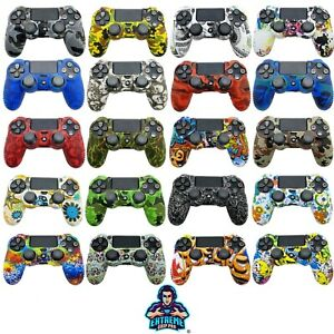 EGP™ ULTIMATE Case Grips Silicon Rubber Cover Protective Skin for PS4 Controller