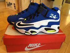 Nike Air GRIFFEY MAX 1 JR ROYAL BLUE WHITE BLACK VOLT NEON size 8.5 Brand new