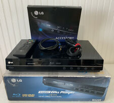 LG BH200  HD-DVD Super Blu-ray Player - Open Box Remote HDMI Cable *NICE*