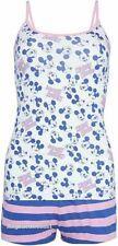 Primark Ladies Cami Vest & Short Pyjama Pajama Set Disney Mickey Mouse Summer