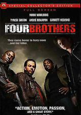 Four Brothers (DVD, 2005, Full Screen) SPECIAL COLLECTOR'S EDITION NEW 7.99 SALE