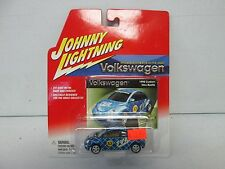 Johnny Lightning Volkswagen 1998 Custom New Beetle Blue