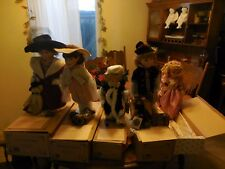 Limited Edition 4 New Boyds Collection & 1 Heritage Signature Collection Dolls
